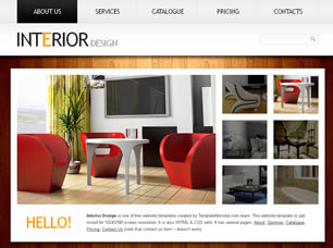 Interior Design Free Website Template Free CSS Templates Free CSS