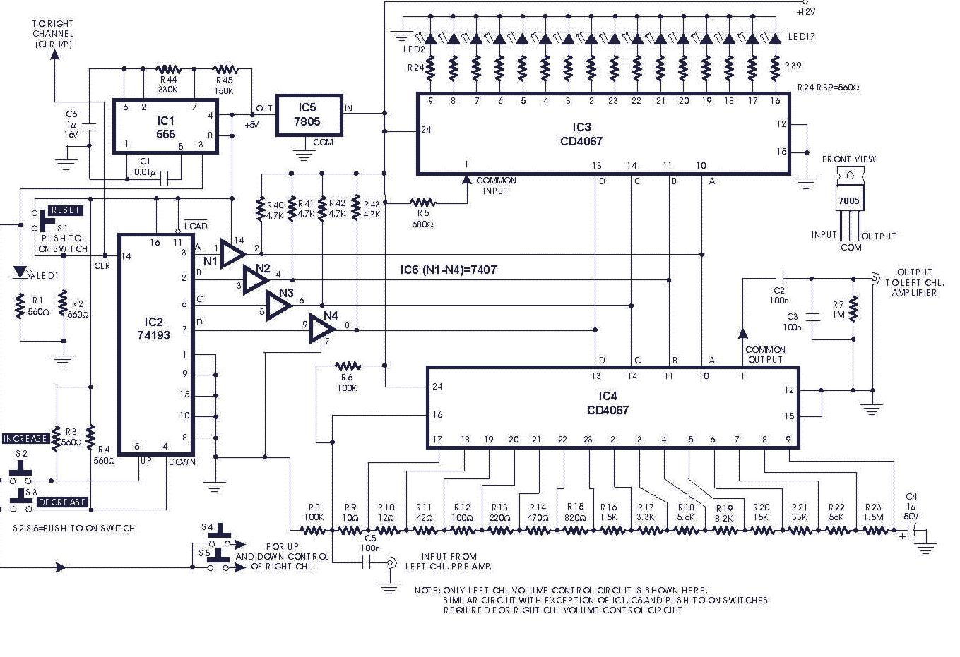 speaker volume control wiring diagram obd2 ford digital circuit