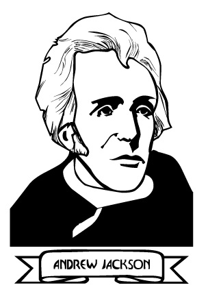 Andrew Jackson Clip Art