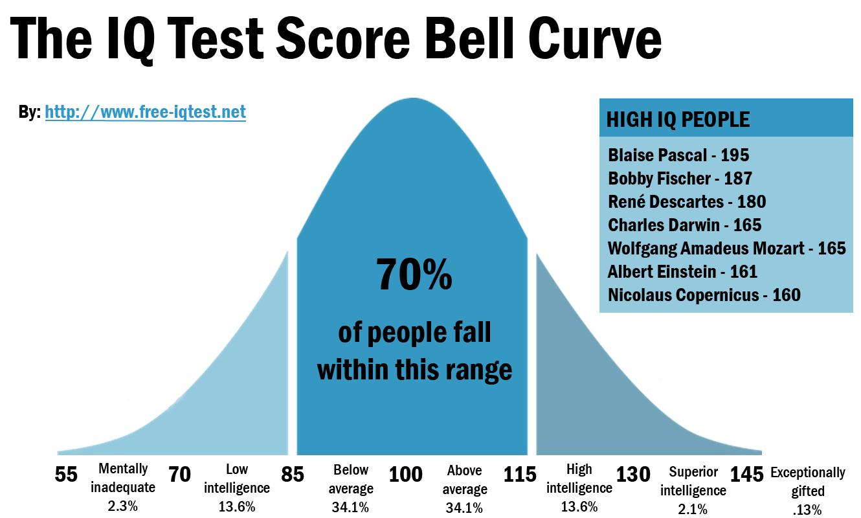 IQ Test Scale