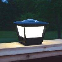 Solar Lights: Flat Rail Garden Deck Patio Solar Lighting ...