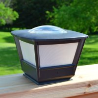 Solar Lights: Flat Rail Garden Deck Patio Solar Lighting