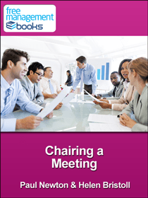 Chairing a Meeting  Free eBook in PDF Kindle and ePUB Format