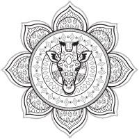 Malvorlagen Mandala In English