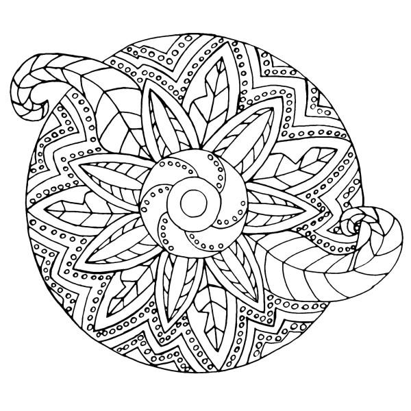 coloring pages mandalas # 8
