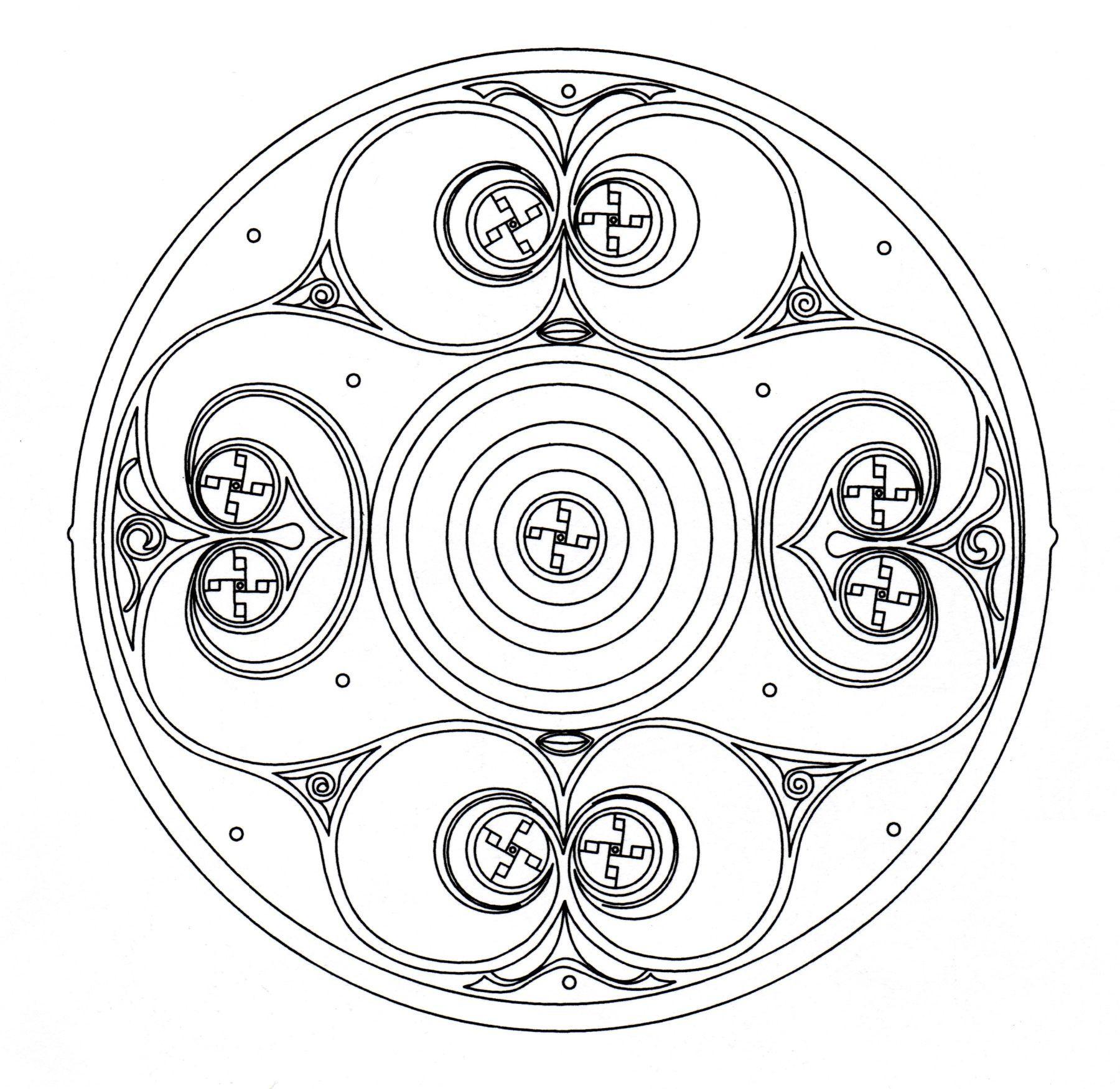 Celtic Mandala 8