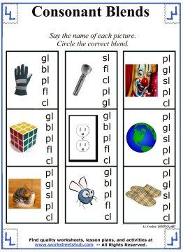 All Worksheets  Blends And Digraphs Worksheets