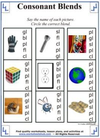 All Worksheets  Blends And Digraphs Worksheets ...