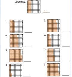 Decimal Place Value Worksheets [ 2200 x 1600 Pixel ]