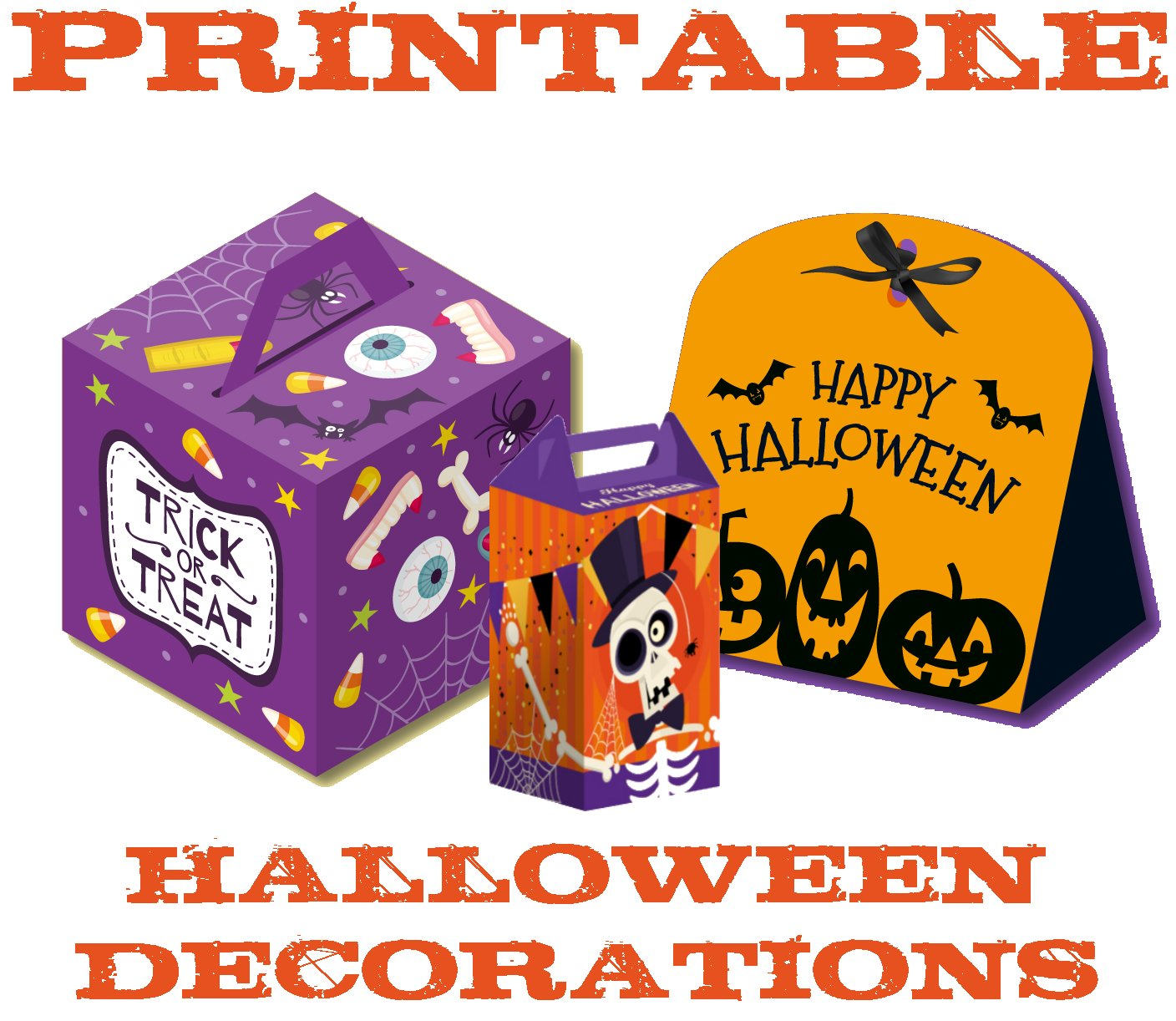 Free Halloween Printables Cut Out Halloween Boxes
