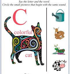 Printable Letter C Worksheets \u0026 Activities [ 2200 x 1600 Pixel ]