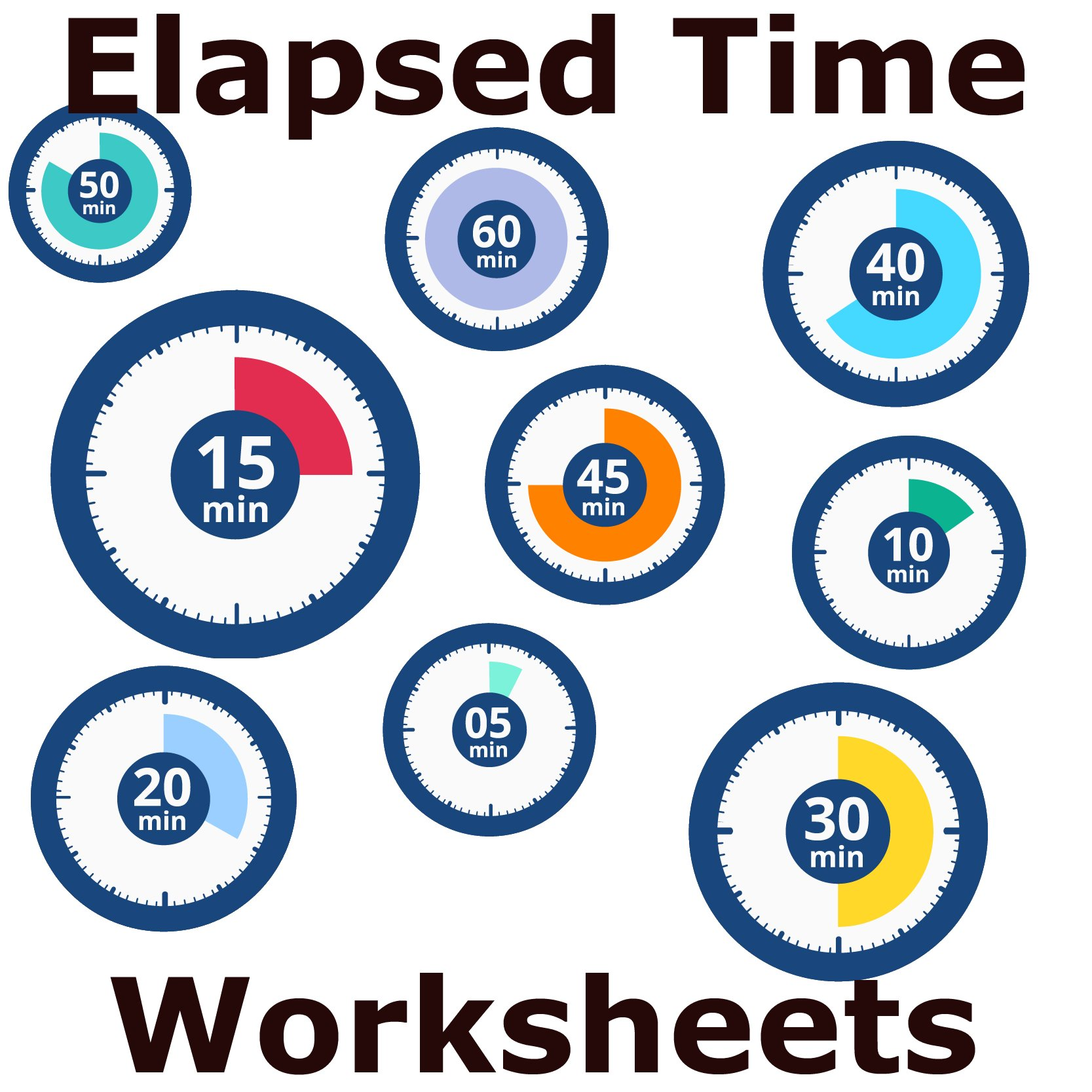 hight resolution of Telling Time Worksheet - Elapsed Time