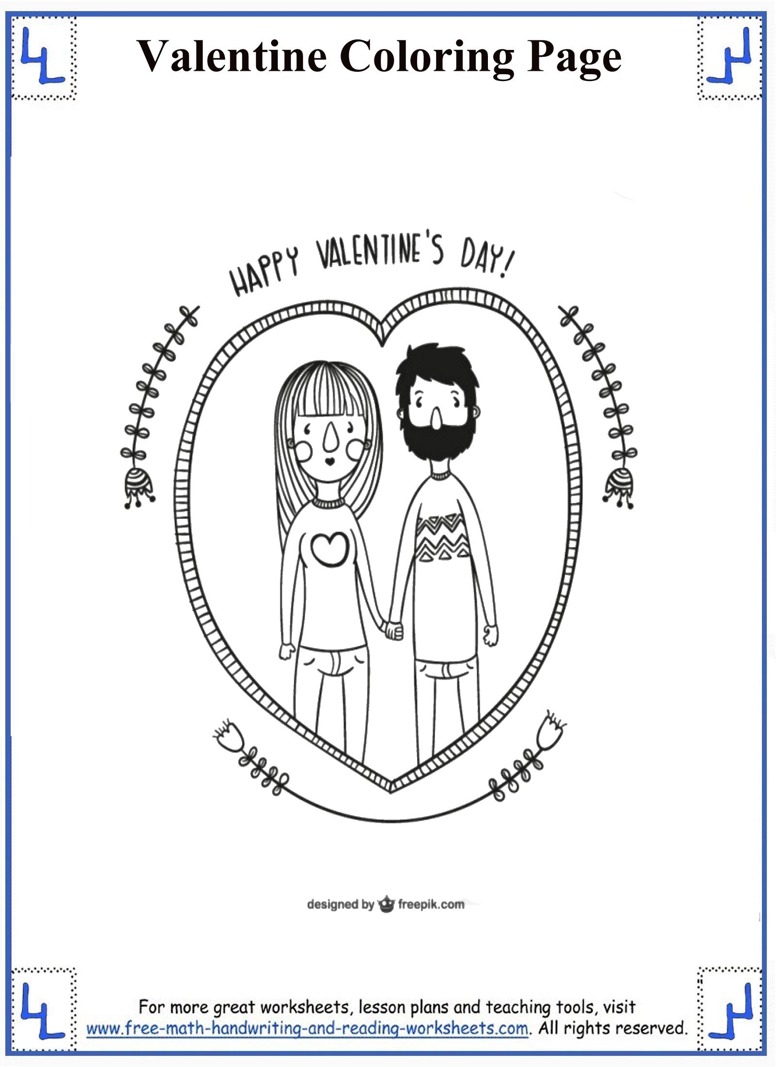 Great Valentine S Day Worksheets Free Printables