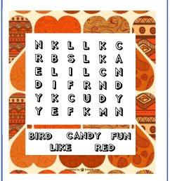 Valentine Word Search - Printable Puzzles [ 2200 x 1600 Pixel ]