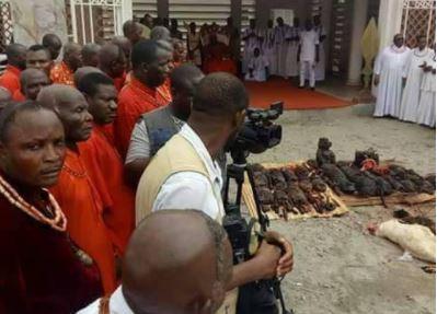 The Oba of Benin Kingdom nullifies all juju oaths that bind