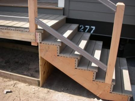 Mobile Home Stairs Ideas For Your Home | Wood Mobile Home Steps | Double Wide | Pressure Treated | Temporary | Wood Camper | Stained Wood