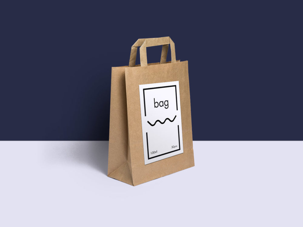 Maybe one of them is. Free Paper Bag Psd Mockup Free Mockup