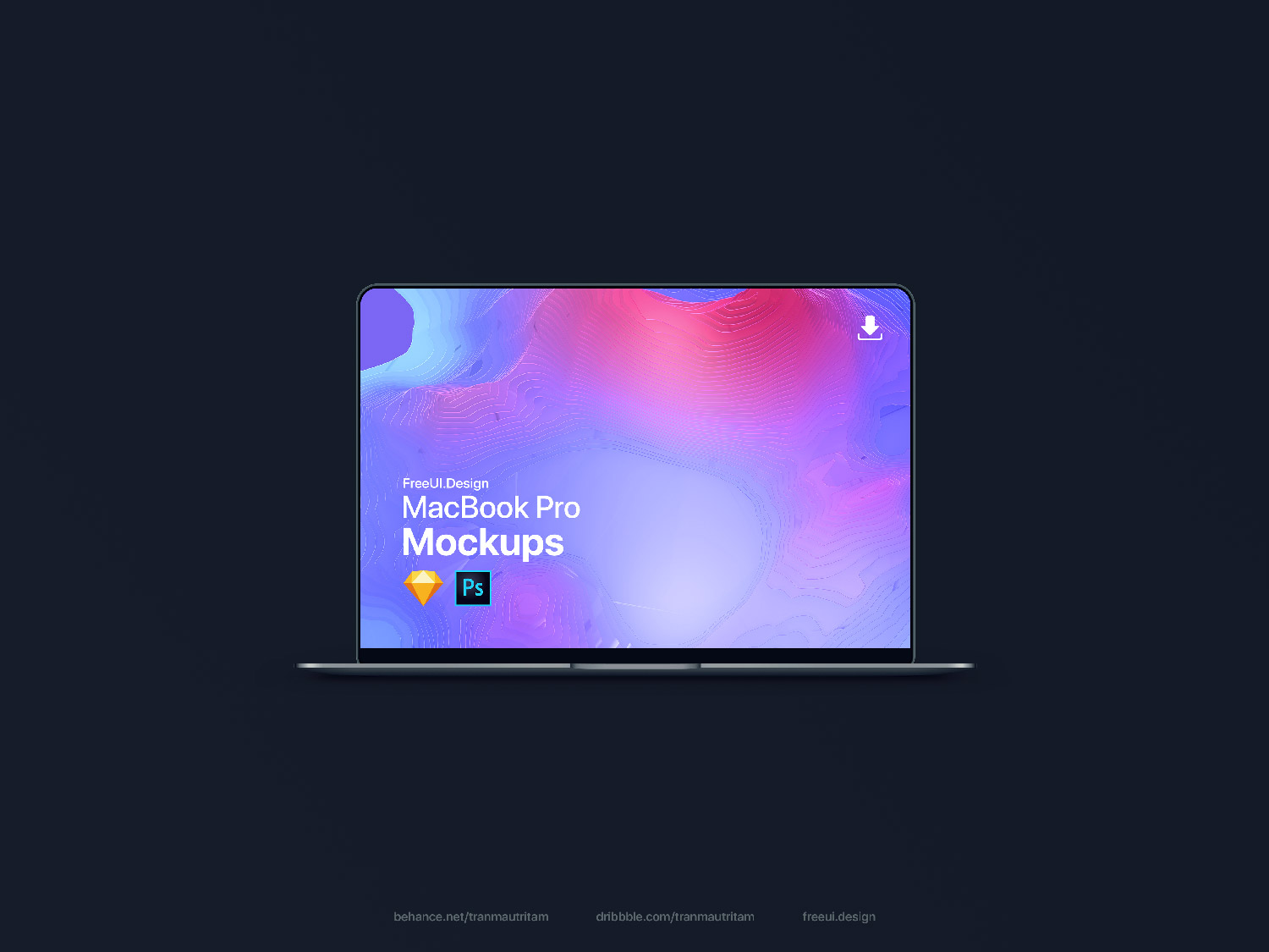 new macbook pro mockup