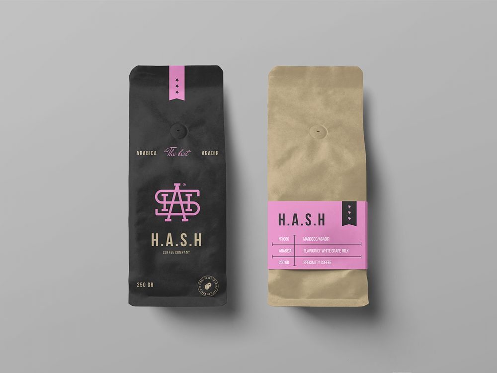 Download Free Coffee Bag Mockups | Free Mockup