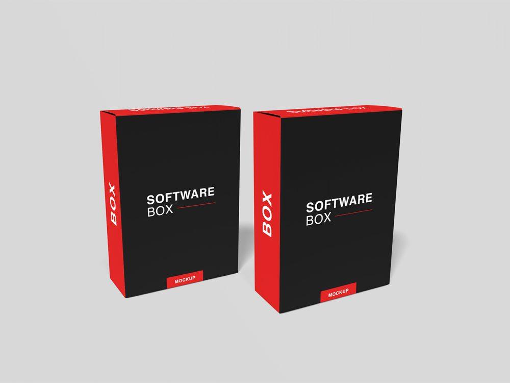 Download Free-Realistic-Software-Box-Mockup-05 | Free Mockup