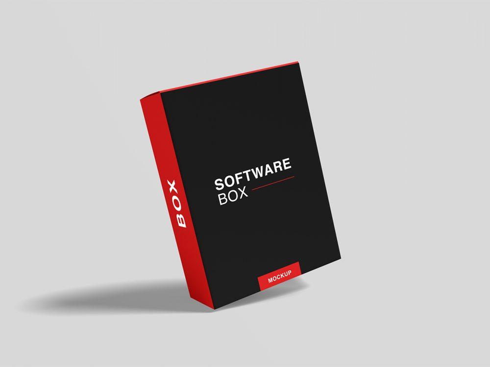 Download Free-Realistic-Software-Box-Mockup-08 | Free Mockup