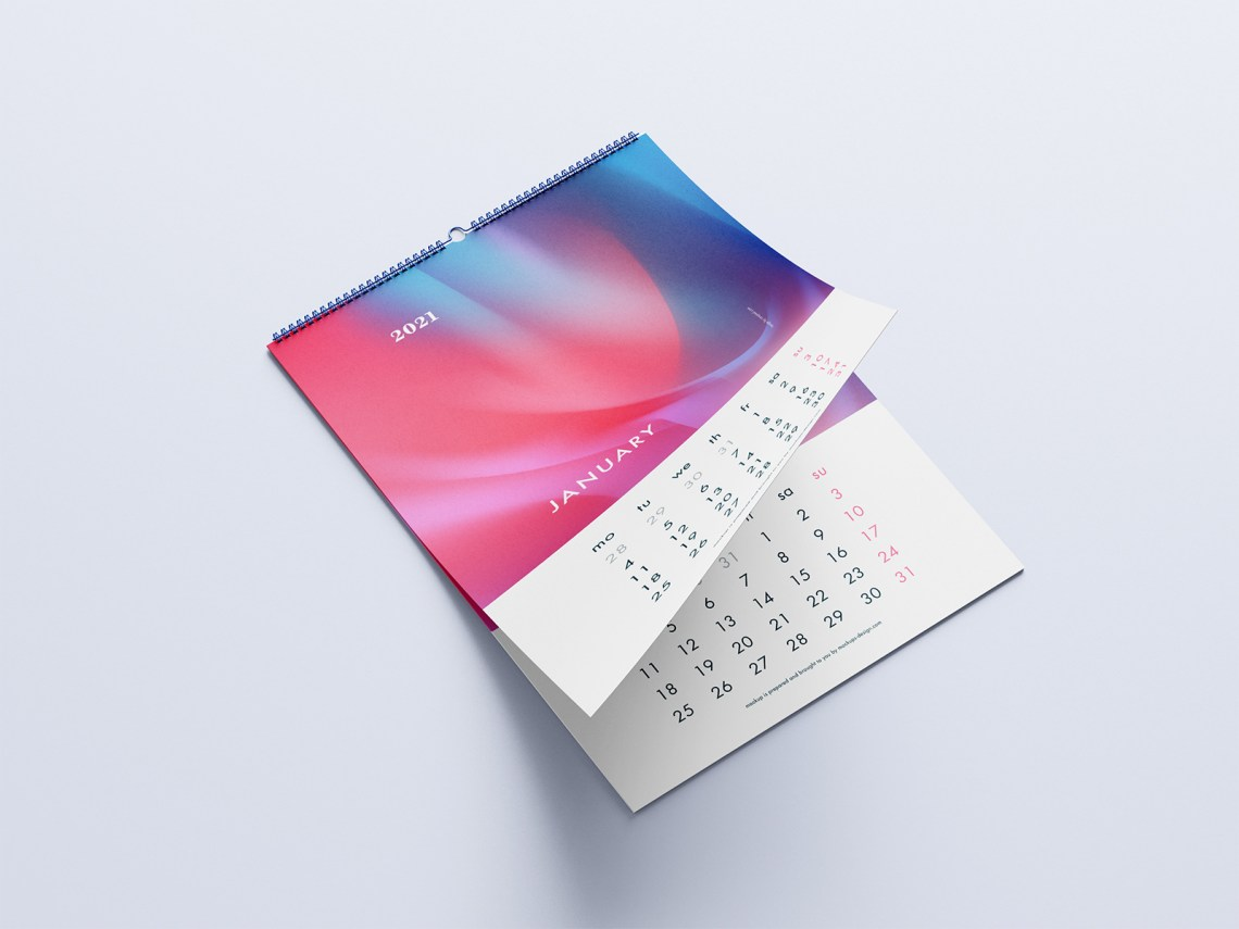 Download Calendar Mockup Free Download Yellowimages