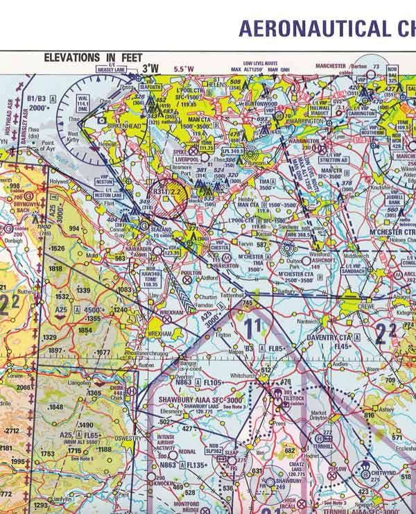Example Aeronautical Chart