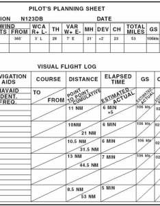 Figure pilot   planning sheet and visual flight log also rh free online private ground school