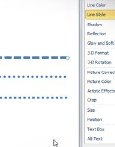 Insert  dotted line in powerpoint also how to rh free power point templates