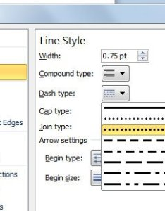 Available line types in microsoft powerpoint also how to insert  dotted rh free power point templates