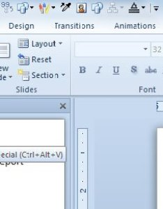 Using paste special from excel also dynamically link charts  tables in with powerpoint rh free power point templates