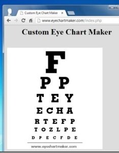 Eye chart maker also best digital generators for testing visual acuity rh free power point templates