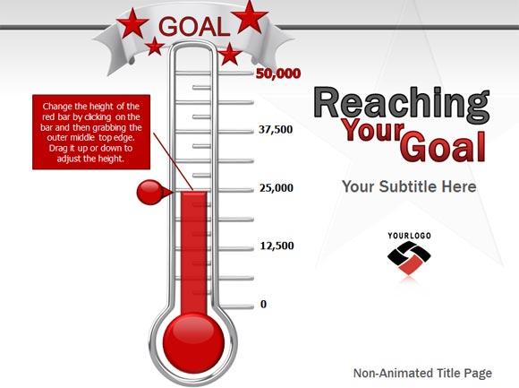 fundraiser progress chart