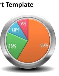 Pie chart also free creative template for powerpoint presentations rh power point templates