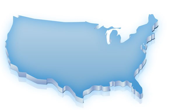 free us map template