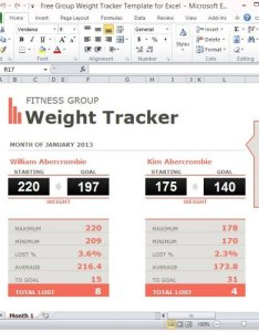 also free group weight tracker template for excel rh power point templates