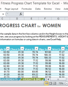 also fitness progress chart template for excel rh free power point templates