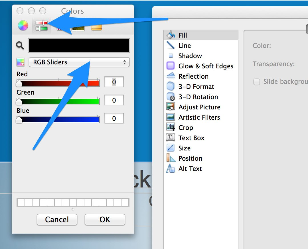 How To Set Rgb Colors In Powerpoint