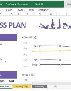 also how to create and track your fitness plan with excel online rh free power point templates