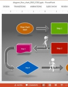 Animated flowchart powerpoint template also flow chart diagram rh free power point templates