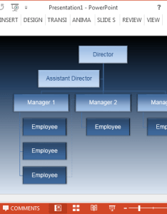 also free animated vertical organizational chart powerpoint template rh power point templates