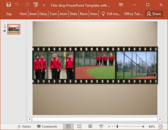 film powerpoint templates
