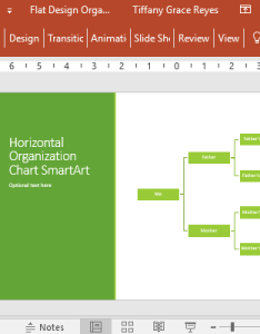 also flat design organization chart for powerpoint rh free power point templates