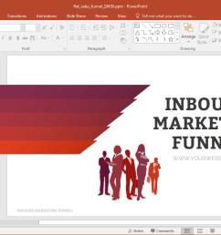 flat sales funnel powerpoint template [ 1143 x 701 Pixel ]