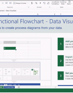 Create process diagrams through visio   data visualizer feature also automatically in using excel rh free power point templates
