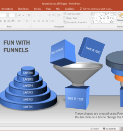 what makes this template different from other funnel diagram templates is the inclusion of blocks to the editable funnel diagrams  [ 1349 x 710 Pixel ]