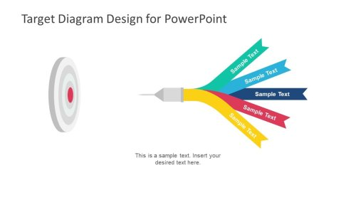 small resolution of target diagram powerpoint template slidemodel