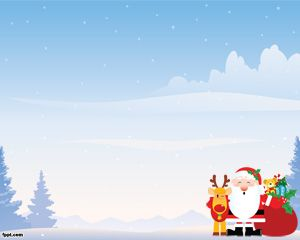 christmas landscape powerpoint