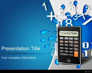 Math Numbers PowerPoint Template