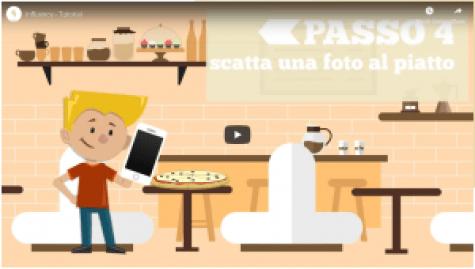 Una breve presentazione video mostra agli utenti cosa fare.